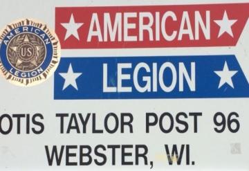 Post 96: Webster Wisconsin