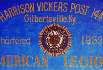 Post 144: Gilbertsville Kentucky