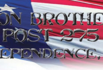 Post 275: Independence Kentucky