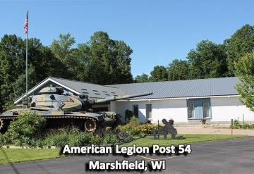 Post 54: Marshfield Wisconsin
