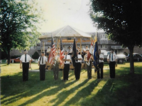 June 15, 1985 - Peterson Park, Pause for the Pledge, and Flag Burning Ceremony