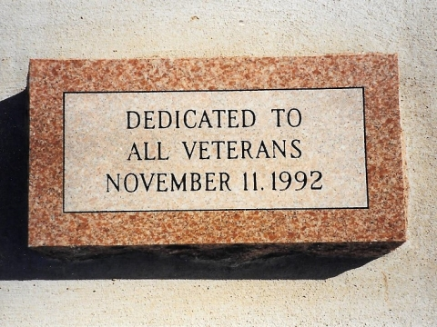 Veterans Day Celebration, Recognition, and Dedication 1992