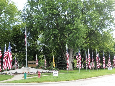 2016 Memorial Day Ceremony at Peterson Park