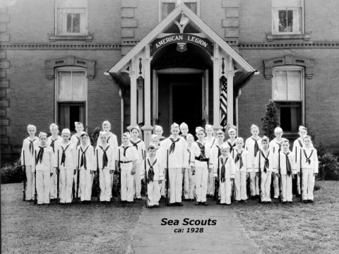 Sea Scouts (ca: 1928)