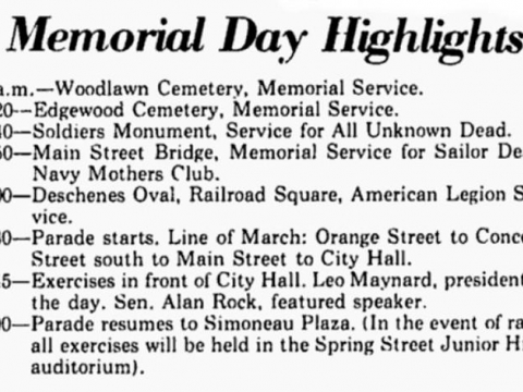 Nashua Memorial Day Parade 1976