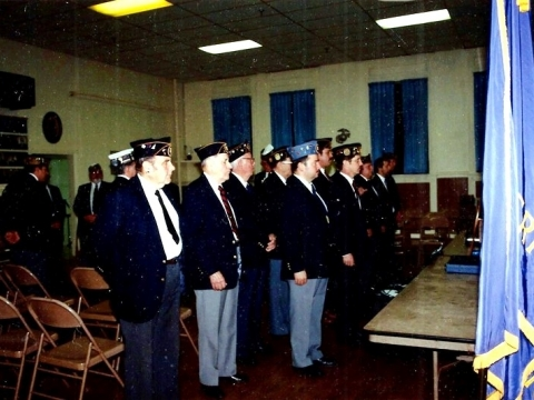 1991 Post 3 Officer Installation