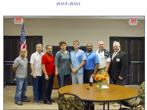 Matthew Blount Post 555 Officers 2014- 2019