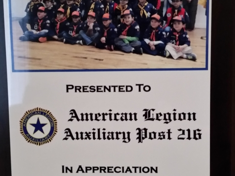 Cub Scouts Pack 52 Blue and Gold Banquet