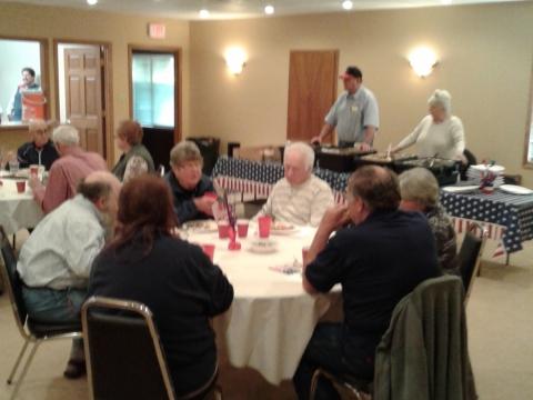 Appreciation Dinner for Veteran Honor Guard Teams
