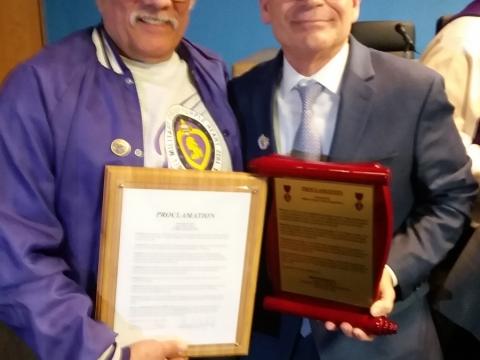 Purple Heart Town Designation