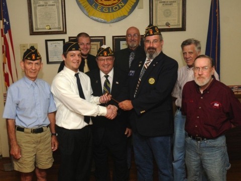 New Officers American Legion Post 141