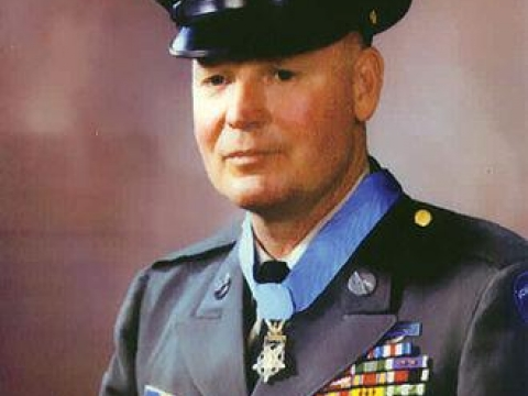MEDAL OF HONOR RECIPIENT FINNIS DAWSON McCLEERY