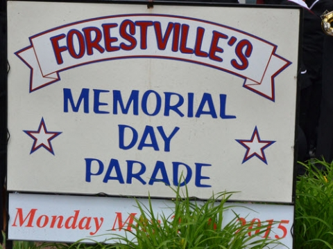 2015/05/25 Forestville Village Memorial Day Parade