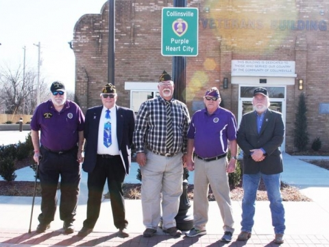 Veterans Day 2017, Purple Heart City
