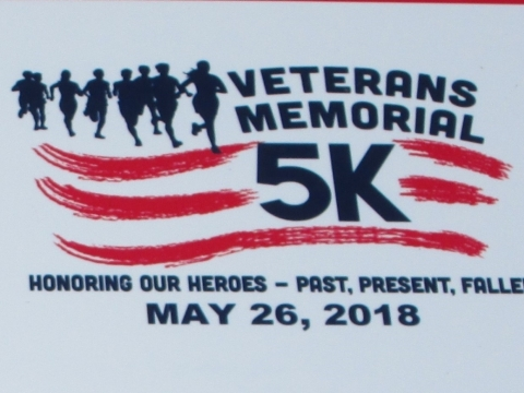 4th Annual Veterans Memorial 5k Race  05-26-2018