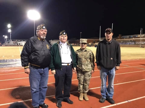 Legion Honored