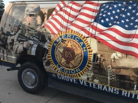 The American Legion Grove Veterans Ritual Team