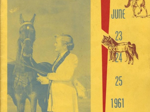 American Legion Horse Show 1961