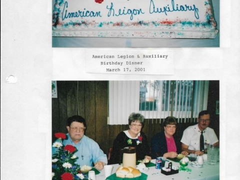 American Legion Celebrates their 82th birthday 2001