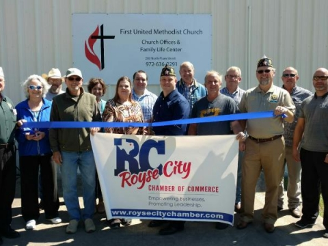 Royse City Chamber of Commerce Ribbon Cutting Ceremony