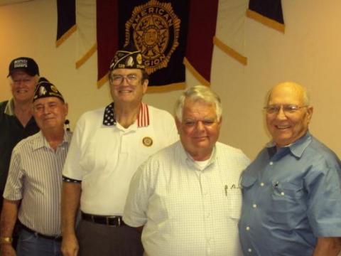Officers 2010-2011 Stillwater Post 129