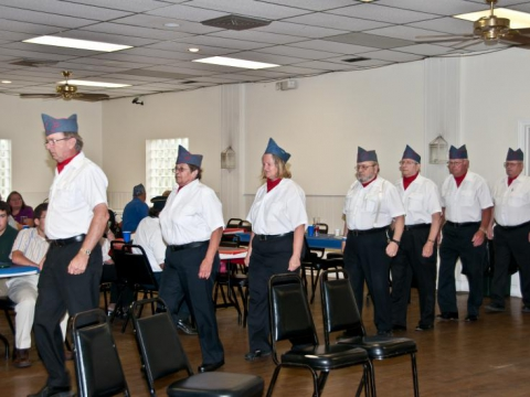 2010 Ernest F. Oldenburg Post 216 Officers Install