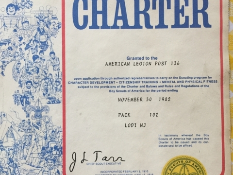 Boy Scouts - Pack 102 - Charter Documents