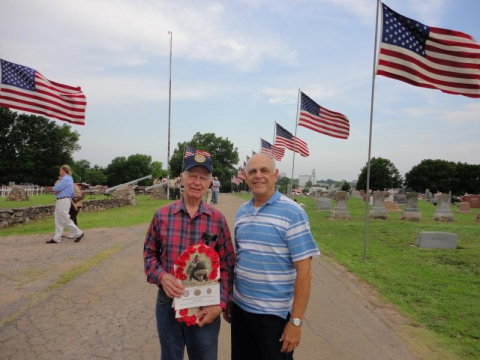 Memorial Days at Fairlawn Cemetery by American Legion Post 129