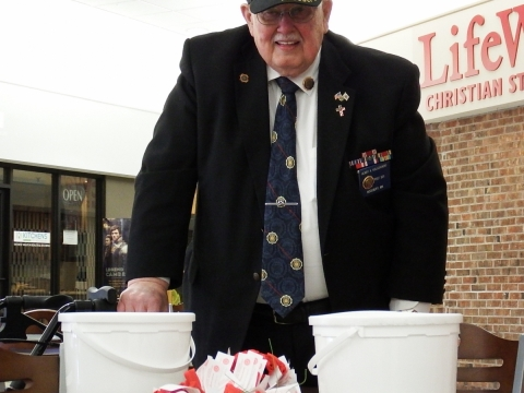 American Legion Post 501 Poppy Days Completion