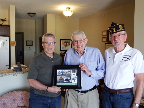 Woodbury American Legion Post 501 presented By Gone Warrior plaques