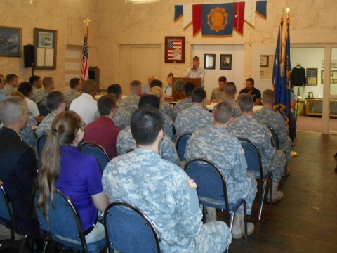 American Legion Post 240 Hosts VETERANS DAY EVENT - TSU ROTC/VETERAN symposium