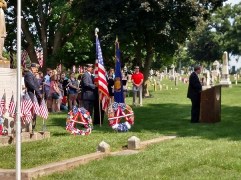 Memorial Day Ceremony 2016