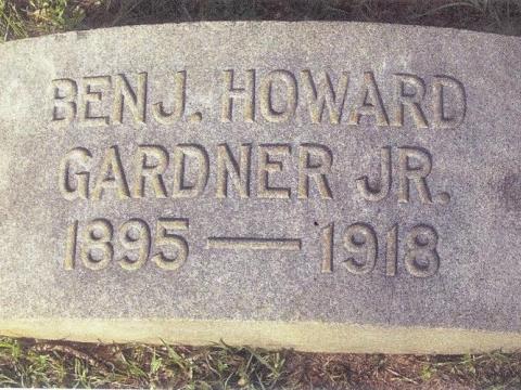 Benjamin Howard Gardner, Jr. - Post Namesake