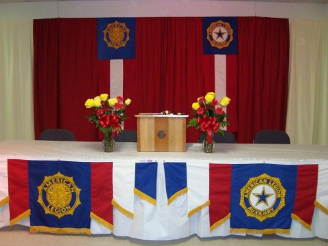 Post 626 & Auxiliary Joint 2015 Induction Ceremony