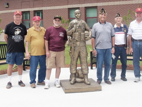 2019, 06-21, Post 307, 288 and the Forty & Eight sponsored a Bingo at the Veterans Home in Reserve Louisiana.
