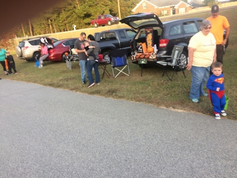 Grovetown Trunk or Treat 2016