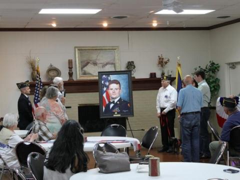 Marshall Scott Jamar Painting Dedication