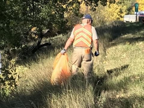 Bi-annual Highway clean up