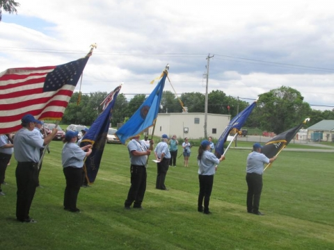 Flag Retirement 2014