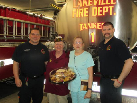 Post 64 Auxiliary rewards First Responders