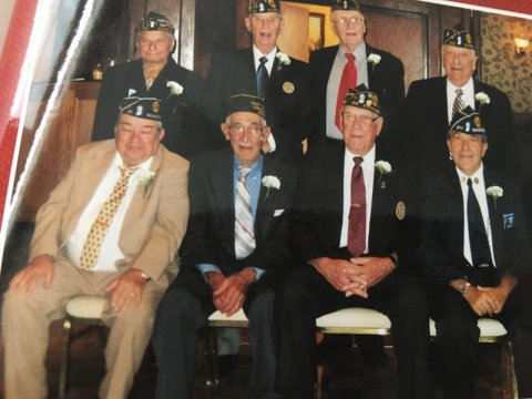 Post Commander and members