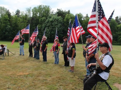 Vietnam Moving Wall Visits Post 330