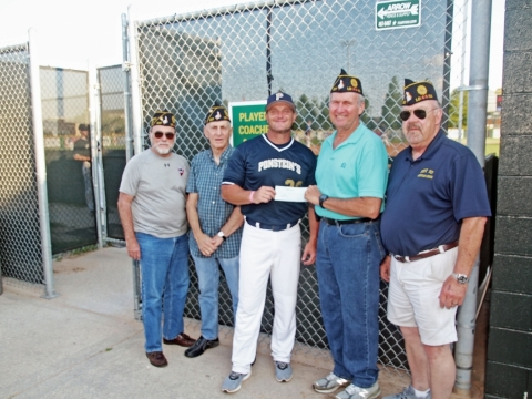 Post 307 the sponsor of Holy Cross High School in the American Legion Baseball for the First District- Louisiana.
