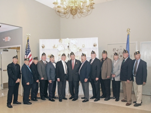 Post 307 Installation of new Post Officers for 2019-2020