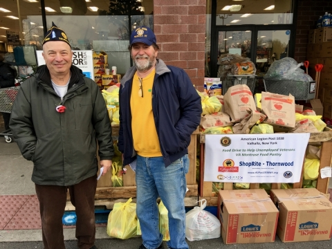 VA Montrose Food Pantry Drive 2018 - American Legion Post 1038