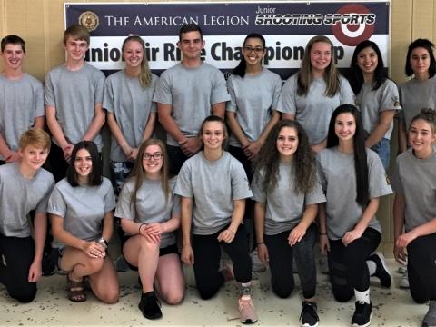 American Legion Air Rifle Championship Photos