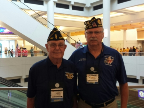 Jack Jones and Norm Brosi at the National Convention
