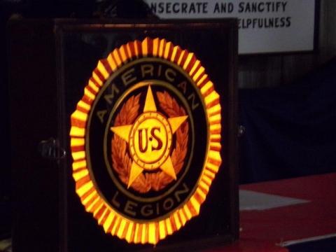 1946 Lighted Legion Emblem