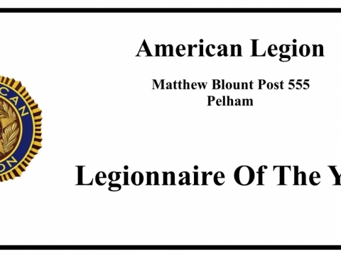 Post 555 Legionnaires of the Year