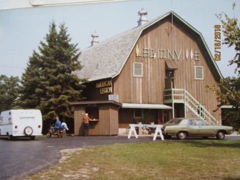 THE BIG BARN AT LEGIONVILLE